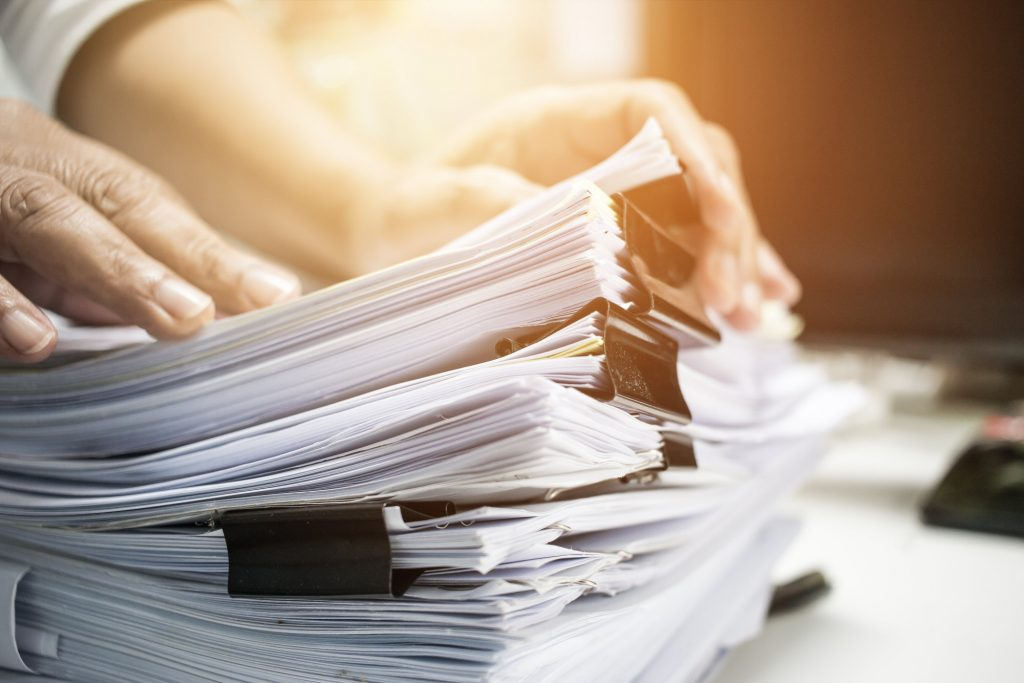 Person filing through Indian status tax exemption paperwork