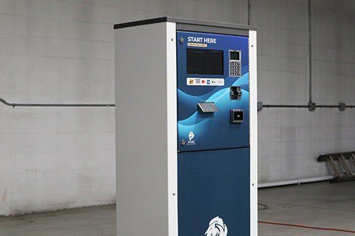 Rugged and weather-proof design for your automatic car wash payments